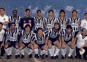 Foto do Botafogo Campeão Carioca de 1989