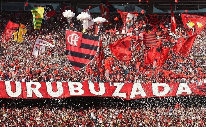 Torcida do Flamengo presente