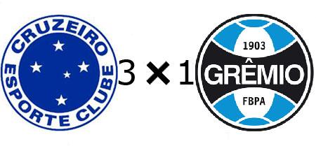 Cruzeiro 3x1 Grêmio