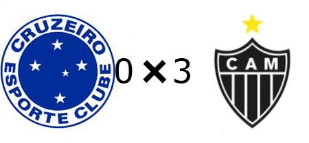 Cruzeiro 0x3 Atlético-MG