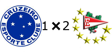 Cruzeiro 1x2 Estudiantes