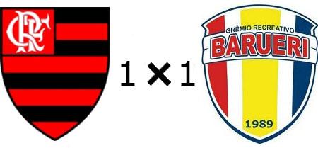 Flamengo 1x1 Barueri
