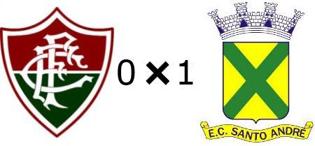 Fluminense 0x1 Santo André
