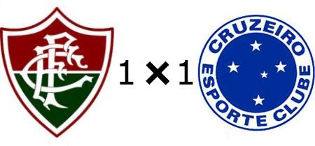 Fluminense 1x1 Cruzeiro