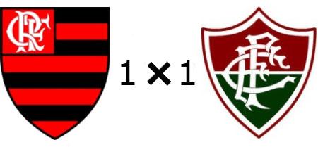 Flamengo 1x1 Fluminense