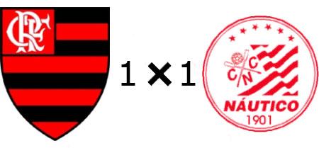 Flamengo 1x1 Náutico