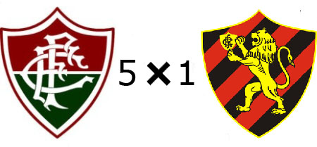 Fluminense 5x1 Sport