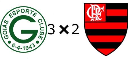 Goiás 3x2 Flamengo