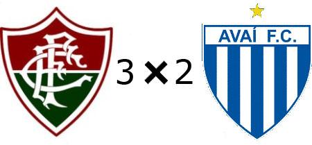 Fluminense 3x2 Avaí