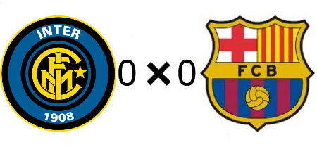 Internazionale 0x0 Barcelona