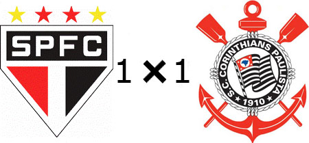 São Paulo 1x1 Corinthians