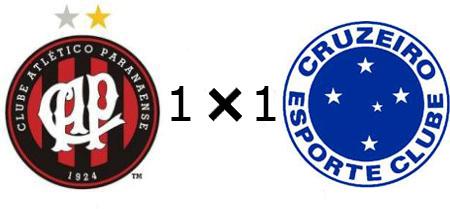 Atlético-PR 1x1 Cruzeiro