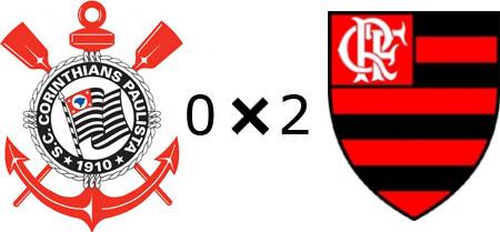 Corinthians 0x2 Flamengo