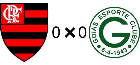 Flamengo 0x0 Goiás