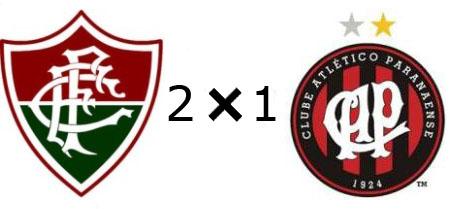 Fluminense 2x1 Atlético-PR