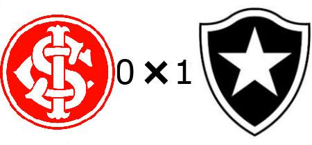 Internacional 0x1 Botafogo