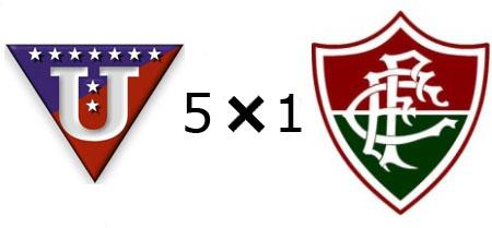 LDU 5x1 Fluminense