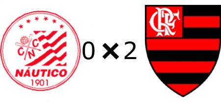 Náutico 0x2 Flamengo