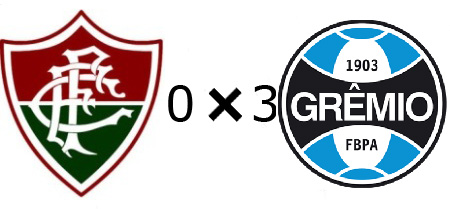 Fluminense 0x3 Grêmio