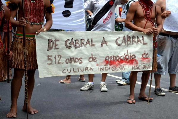 Cabral x Índios