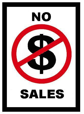 No Sales