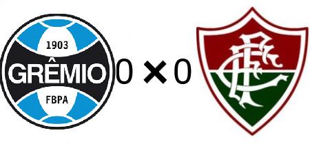 Grêmio 0x0 Fluminense