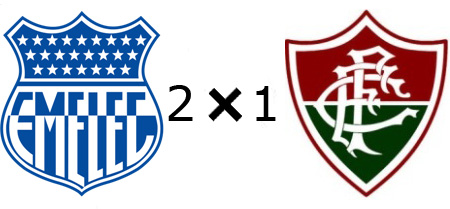 Emelec 2x1 Fluminense
