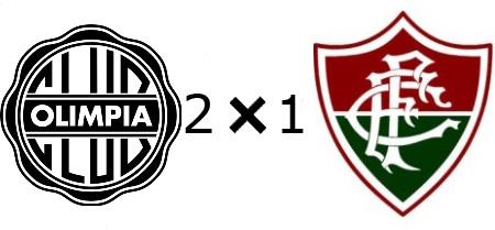Olímpia 2x1 Fluminense