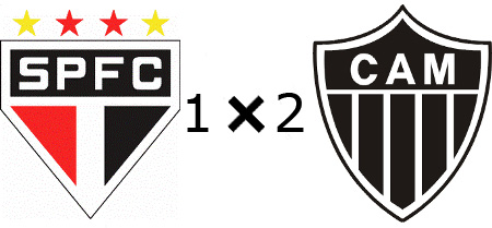 São Paulo 1x2 Atlético-MG