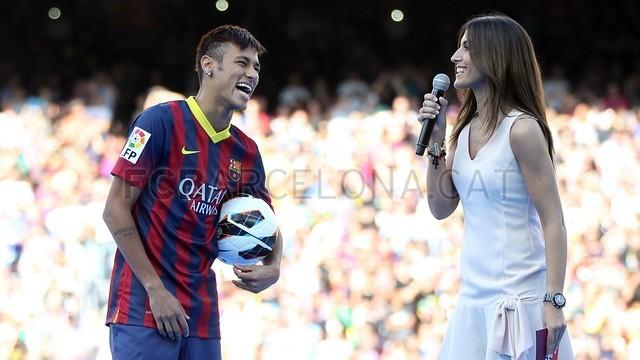 Neymar - Apresentação Barcelona