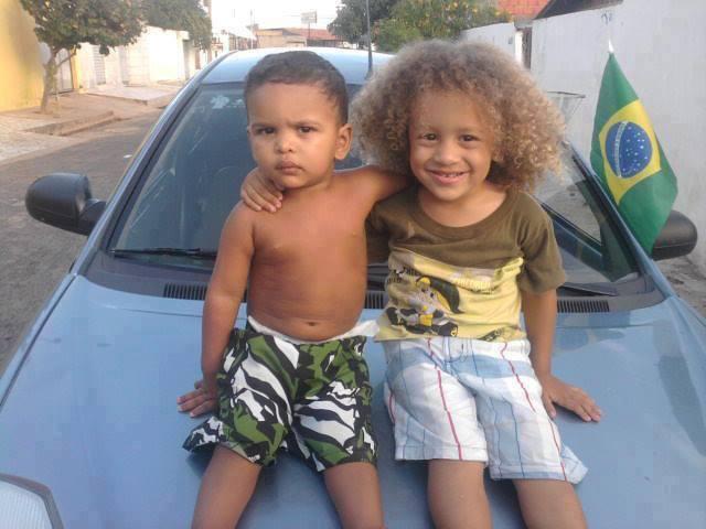 Thiaguinho e Davizinho