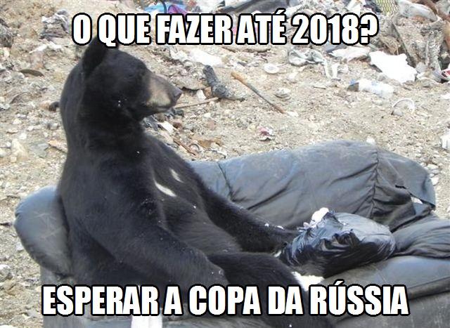 Urso da Copa da Rússia